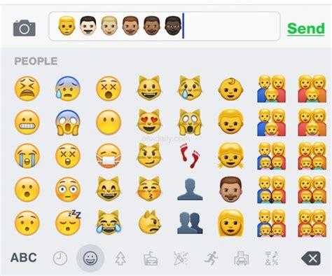 emoji color meanings enable the emoji keyboard on an iphone