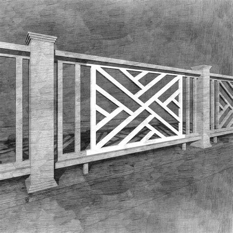 chippendale panel  porch company
