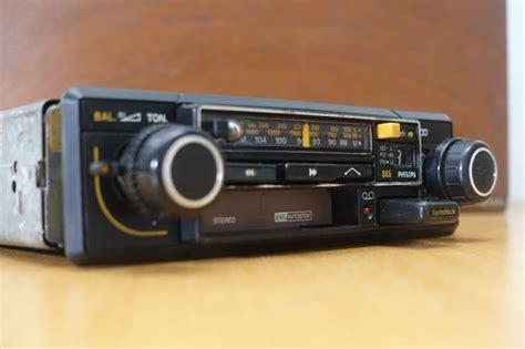 car radio cassette classic philips car radio cassette player stereo