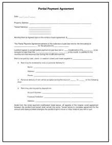 Payment Agreement Template 8 best images of installment payment agreement template