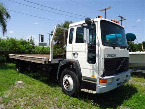 volvo cabover trucks 1991 volvo cabover fe6 conveyor truck hall truck sales