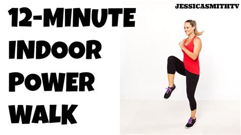 12 minute burning power walk home workout