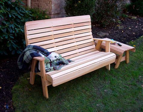 red cedar bench red cedar royal highback garden bench