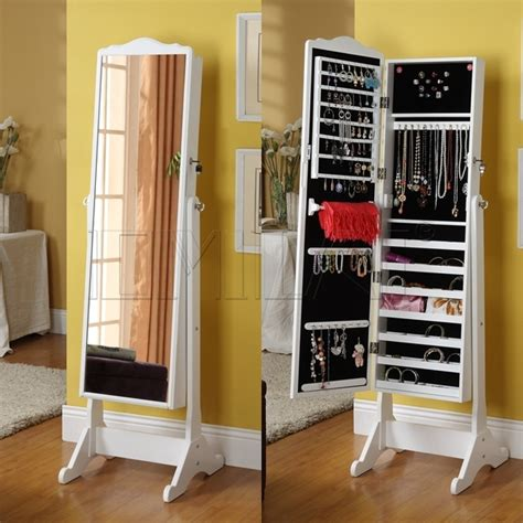 jewelry armoire mirror cabinet stylish collection jewelry armoire cheval mirror alldaychic