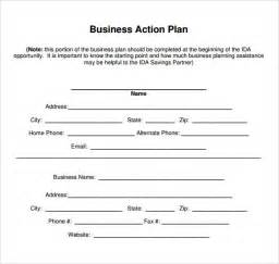 Affirmative Plan Template For Small Business by Sle Business Plan Small Business Emergency Plan
