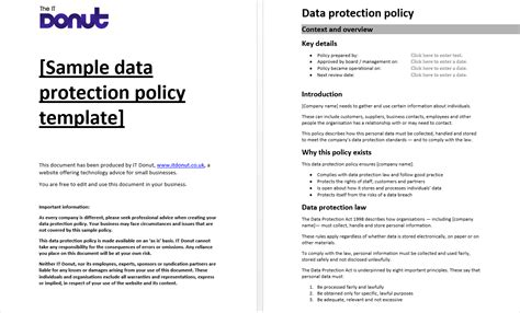 data privacy policy template gdpr data mapping template 10 print ready templates