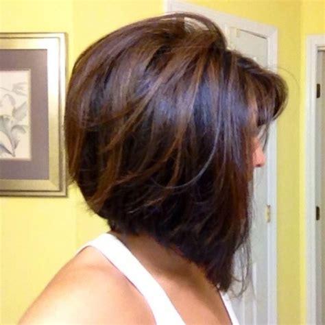 hair dark in back light on top pictures light brown highlights on black hair short dark brown hair