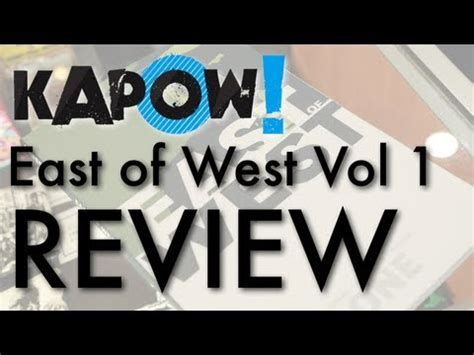libro east of west volume kapow east of west vol 1 review youtube