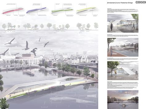 design competition proposal gallery of amsterdam pedestrian bridge proposal