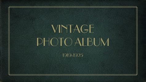 Vintage Photo Album Powerpoint Template By 83munkis Graphicriver Powerpoint Album Template