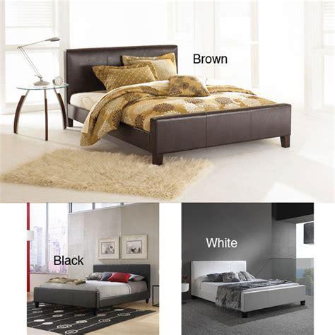 overstock platform bed euro full size platform bed contemporary platform beds