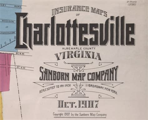 Map Typography From The Early 20th Century Visual