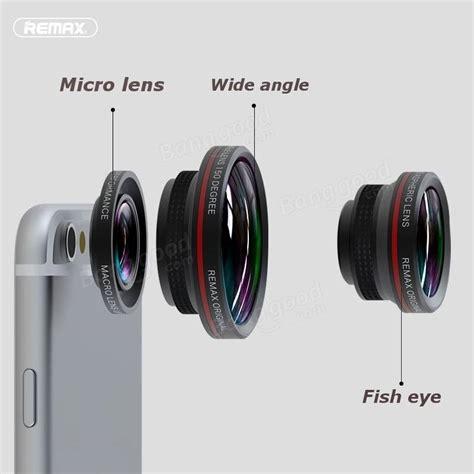 len occhio remax 3 in 1 micro lente grandangolo lente fisheye selfie