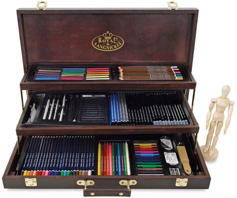 Drawing Kit royal langnickel deluxe wood box drawing set blick