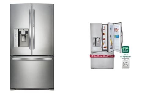 lg refrigerator reviews door lg lfx31945st door refrigerator best refrigerator