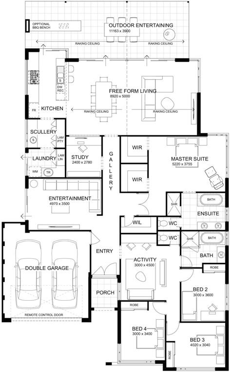 Floor Plan Friday: High ceilings with perfect indoor