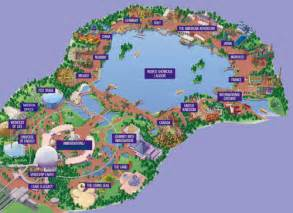 World Showcase Map by Gallery For Gt Epcot Center Map