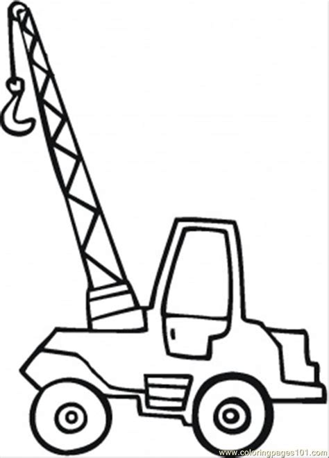 coloring page crane truck coloring pictures of japanese cranes coloring pages