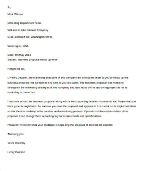 Business Letter Format Follow Up business letter sle 9 exles in word pdf