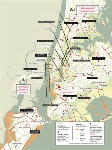 fault lines in the united states east coast