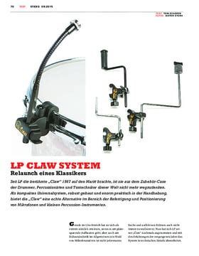 Lp Mic Claw Mounting System 592a lp 592a x mic claw with z rod musikhaus thomann