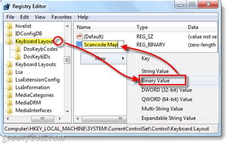keyboard layout scancode map how to disable the caps lock key in windows 7