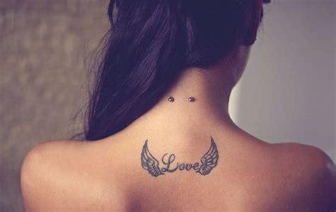 imagenes de tatuajes que digan love 15 ideas de tatuajes de alas de hombre mujer fotos