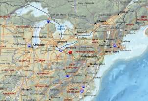 highway map of eastern united states image gallery highway map eastern us