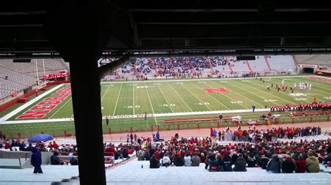 nebraska section 8 memorial stadium nebraska section 8 rateyourseats com