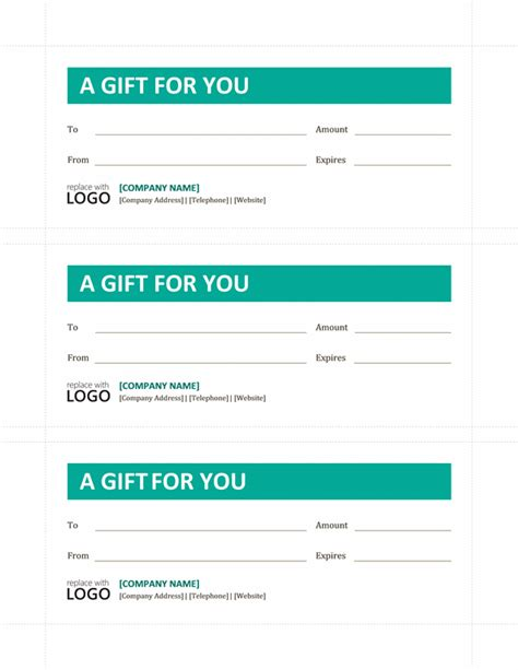 online fillable gift certificate template free archives best