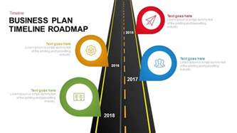 business plan timeline template business plan timeline roadmap keynote and powerpoint