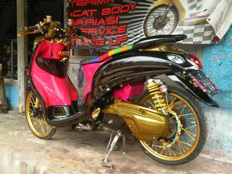 Lu Hid Untuk Motor Matic fino thai look dont give up