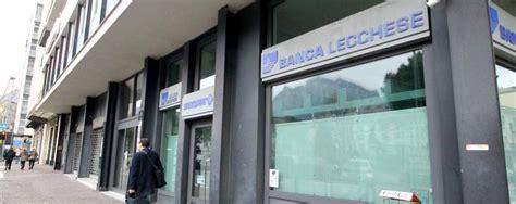 banche a lecco banche in default 171 gli investitori lecchesi non sono