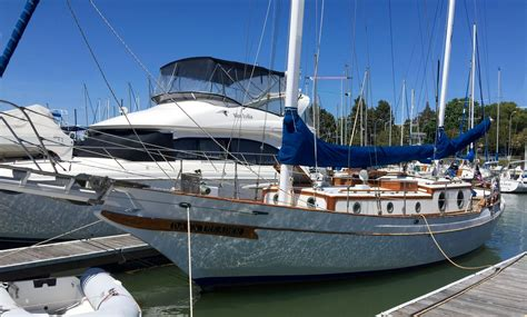scow ketch 41 ta chaio ct 41 ketch yacht for sale rubicon yachts