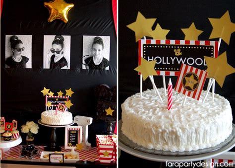party themes original kara s party ideas hollywood glam birthday party kara s
