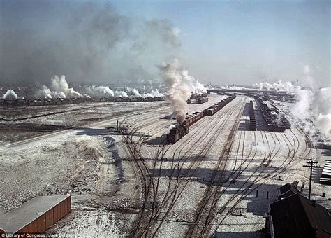 in color chicago great depression colour photos shine a new light on some
