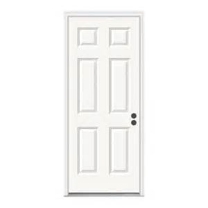 Home Depot Jeld Wen Exterior Doors - jeld wen 32 in x 80 in 6 panel primed premium steel