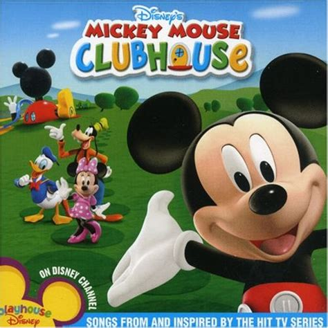 mickey mouse club house music mickey mouse clubhouse cd covers