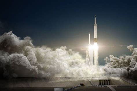 spacex falcon heavy rocket   launched  november