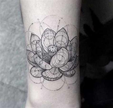 geometric tattoo popularity popular geometric flower tattoos tattoos pinterest