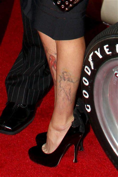jenna jameson tattoo and tito ortiz on the carpet zimbio