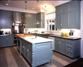 Blue Kitchen Cabinets Ideas by Delorme Designs Great Gray Blue Kitchen