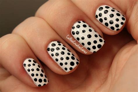 easy nail art designs on black base easy black and white nail art ideas trendyoutlook com