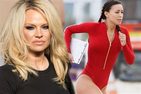 actress in baywatch the movie pamela anderson refuses to play little old lady in