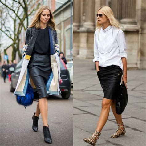 Kalung Leather Black how to wear black pencil skirt best image collection