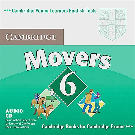 cambridge young learners english tests movers 1 audio cd level 1 examination papers from the cambridge movers new edition vol 6 audio cd h 246 rbuch weltbild ch