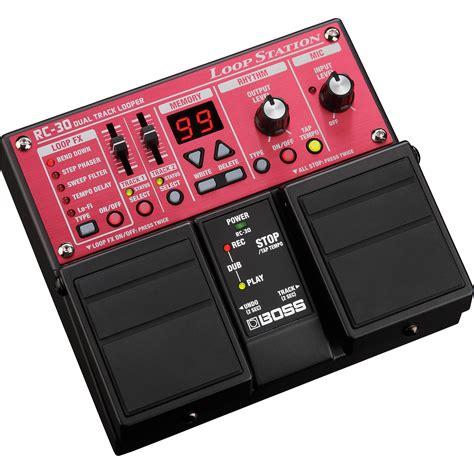loopstation videolike boss rc 30 loop station pedal rc 30 b h photo video