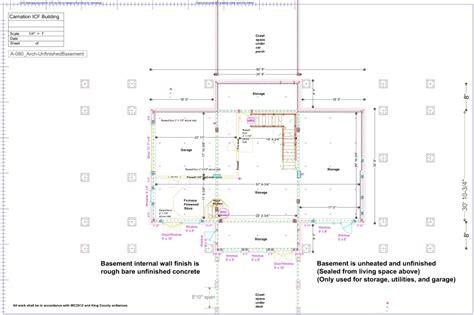 plumbing floor plan house blueprints
