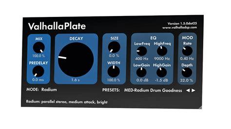 valhalla room reverb review valhalla dsp valhalla plate review musicradar