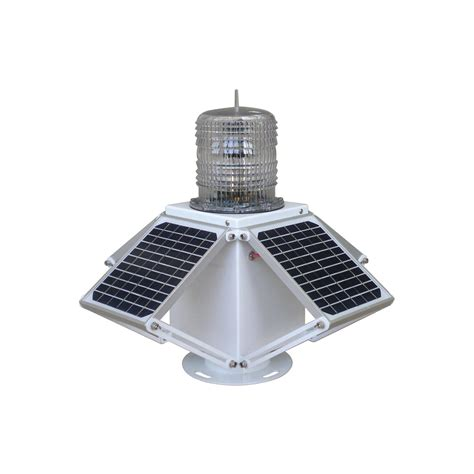 Gs Ls C 4s Led Solar Powered Beacon Light Obstruction Lights Marine Solar Lights